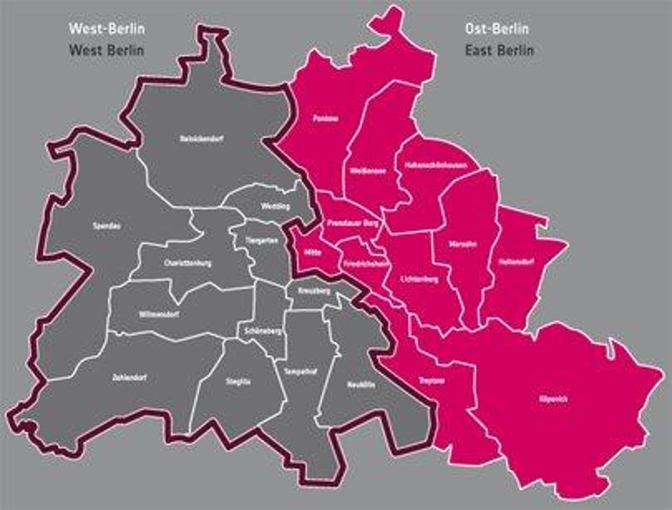 Berlin Ost West