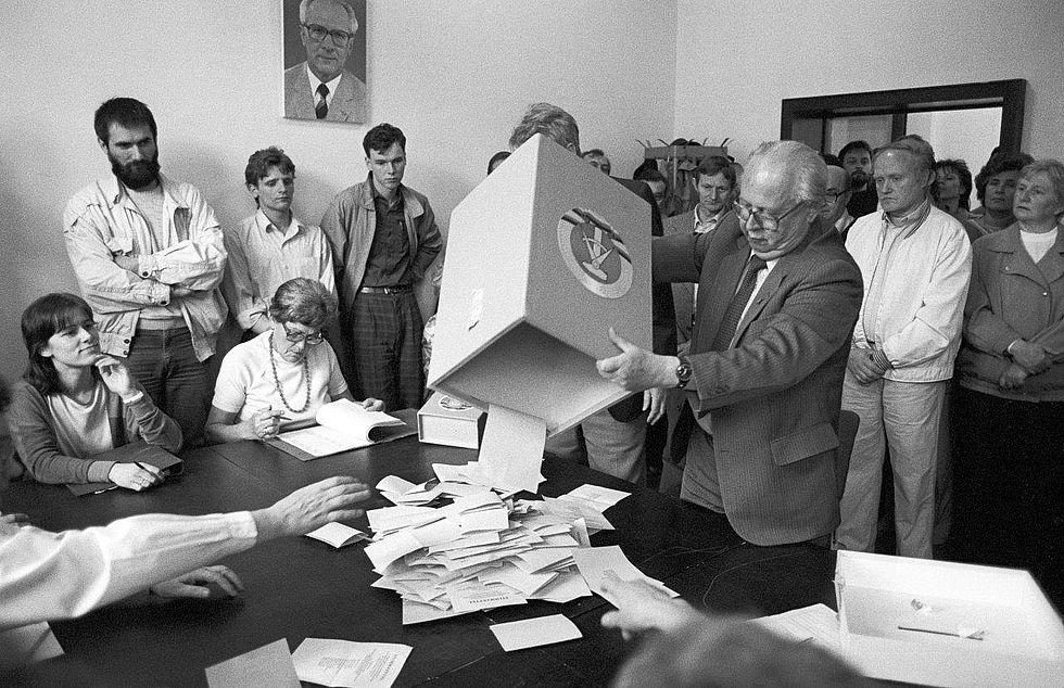 Kommunalwahl Ddr 1989